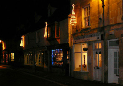 Christmas Lights in the Cotswolds