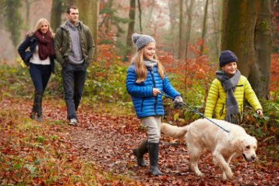 Enjoy the great outdoors on holiday with the kids this Autumn