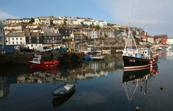 Charlestown in Cornwall
