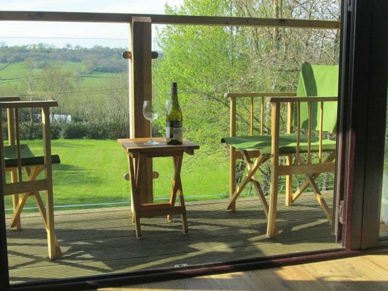 Enjoy country views on holiday