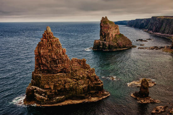 The simply unique Stacks of Duncansby, Caithness