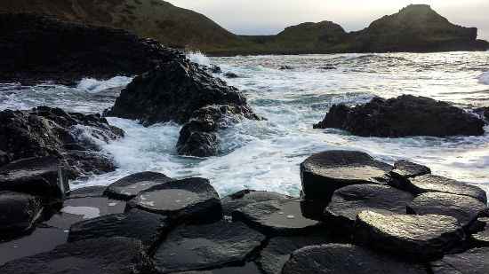 Follow in giant footsteps at the Giant's Causeway, Ireland