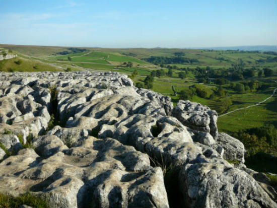 Malham' Coves Amazing Limestone Pavement