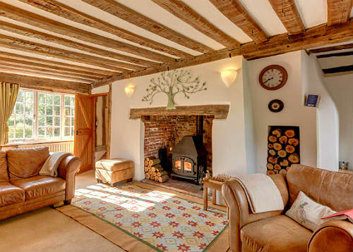 Cosy up at a cottage this winter