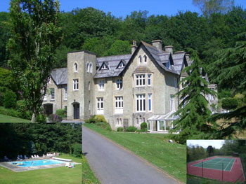 self-catering with swimming pool in Devon