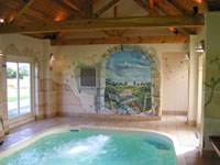 award winning cottages with swimming pool