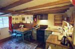 thatched cottage country kitchen