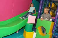 self-catering cottages with soft play for children