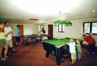 cottages with pool and games room
