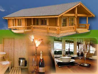 log cabins self-catering