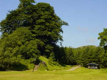self-catering wooden chalets are located amidst some of the best scenery in Scotland.