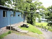 Comfortable 4 star rated chalet for relaxing outdoor pursuit holidays in Scotland