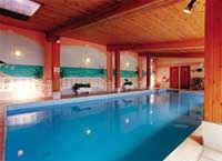 swimming pool complex with a sauna in South Devon