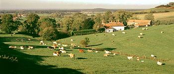 Lincolnshire Wolds and self-catering holiday cottages in a rural area