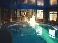 cottage with pool, holiday rental with indoor pool