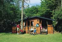 self catering log cabins Derbyshire