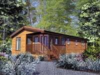 self-catering log cabins north east scotland