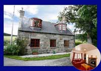cottage for families Royal deeside Scotland