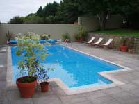 self-catering cottage Ireland with pool