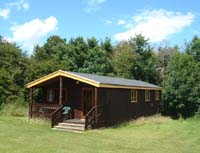 self-catering holiday lodges near a beach