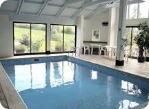 cottage Devon swimming pool