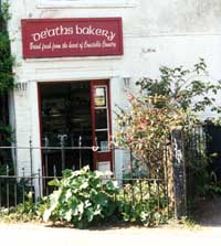 De'ath's Bakery in the centre of the village of East Bergholt
