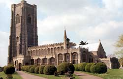 The Parish Church of St. Peter and St. Paul, Lavenham