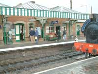 Take a steam train ride to Holt from Sheringham Station