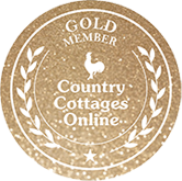 Gold membership badge