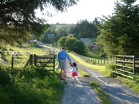 cottage holidays mid wales