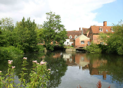 Flatford Mill in the heart of Constable Country