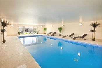 Indoor Swimming Pool at Luxury Holiday House