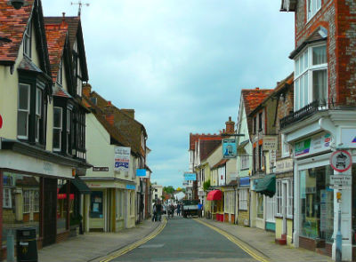 Thame in Oxfordshire