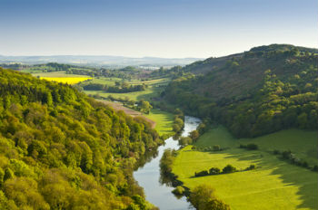 Wye Valley perfect for a rural retreat holiday