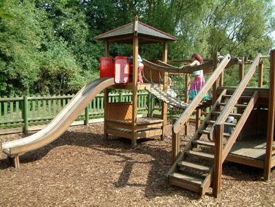 pine lodge breaks with a childrens play park