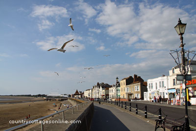cottage holidays Burnham on Sea Somerset