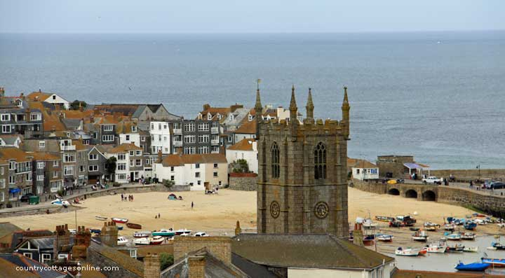 Self Catering Country Cottages In St Ives Cornwall England