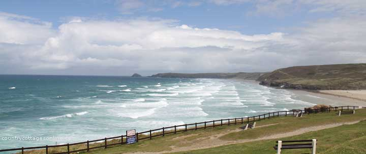 self catering holiday cottages Perranporth Cornwall
