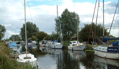Heybridge Basin Maldon Essex UK