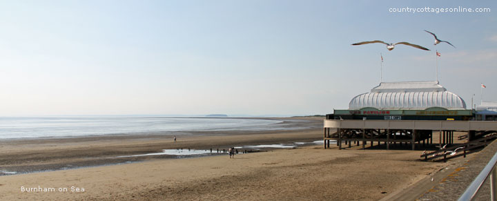 Burnham on Sea self-catering cottage holidays