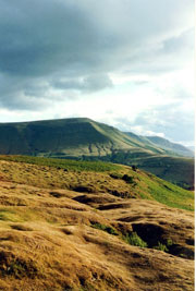 The Brecon Beacons in Wales, a stunning national park