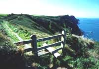 The stunning Pembrokeshire Coast National Park, one of Wales' top holiday destinations