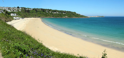 Beach holidays at Golden Sands of Carbis Bay Beach Cornwall