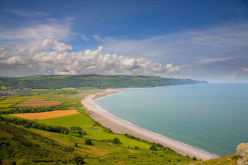 Exmoor covers both coast and country