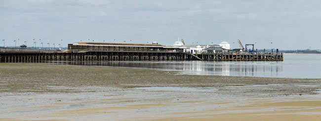Ryde Pier - something to see during your holiday on the Isle of Wight