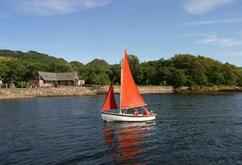 self catering with fishing Oban Scotland