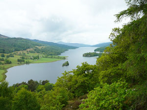 Queens view Perthshire Highlands
