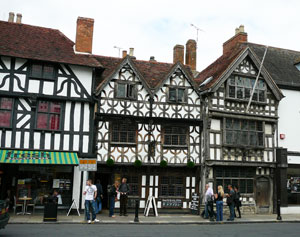 Historical buildings in Stratford upon Avon