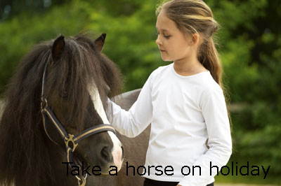 take your horse on holiday to a pet friendly cottage
