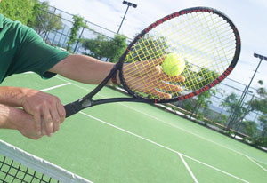 Cottages to rent with tennis courts